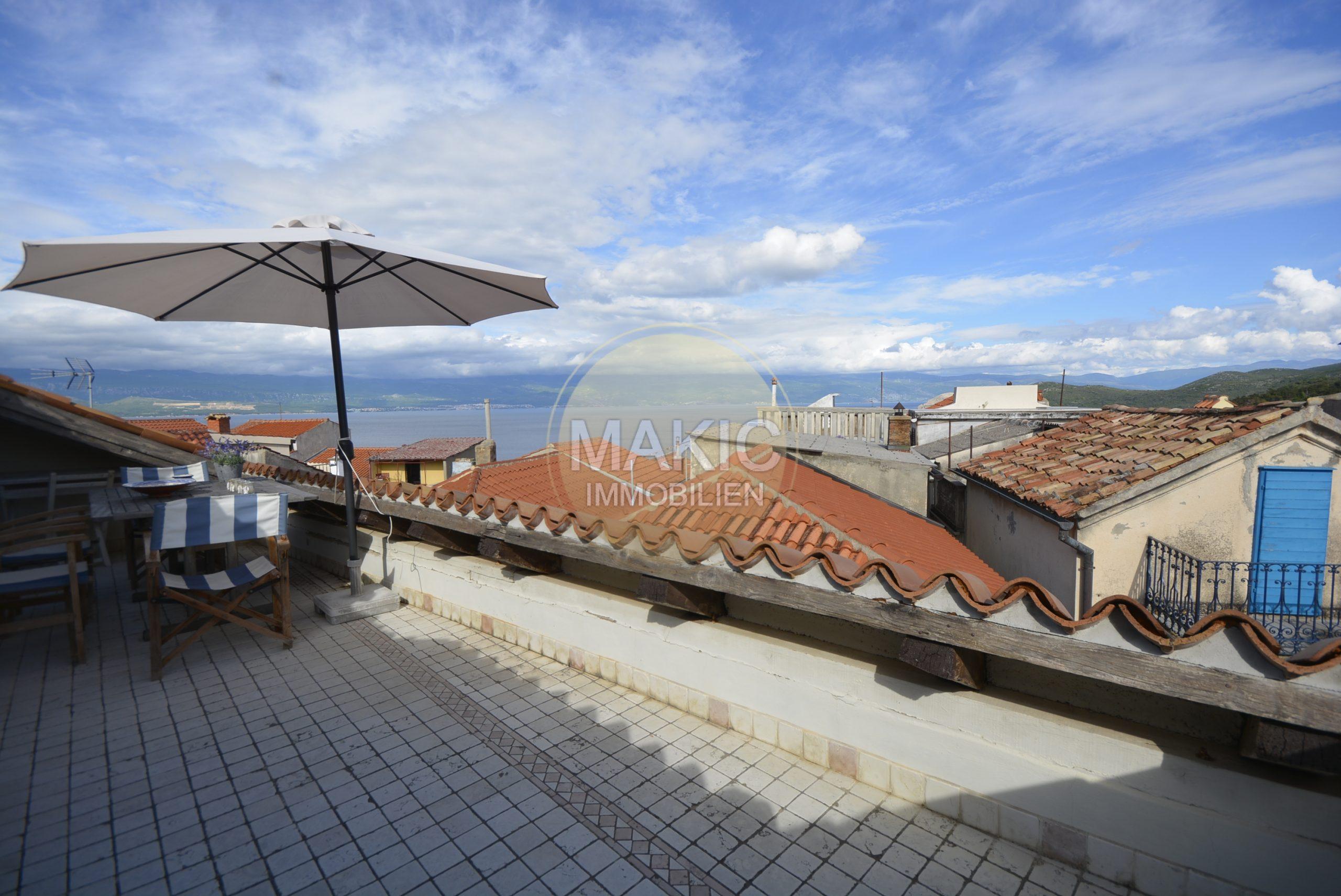 OTOK KRK – Mediteranska kuća sa pogledom na more!