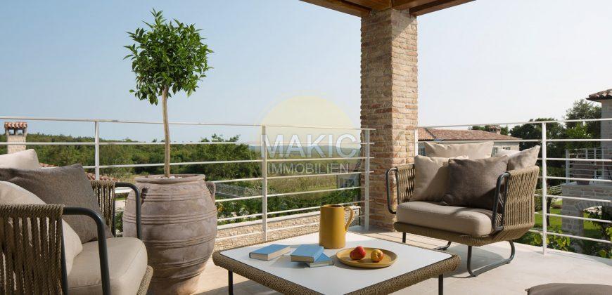 ISTRIEN – Mediterrane Luxus-Steinvilla mit Meerblick IV.
