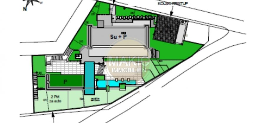 ISTRIA – BUILDING LAND WITH PROJECT FOR A VILLA WITH POOL